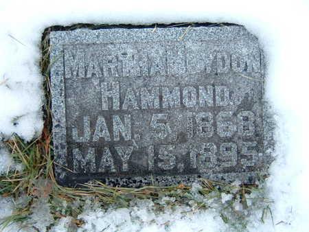 HAMMOND, MARTHA - Polk County, Iowa | MARTHA HAMMOND