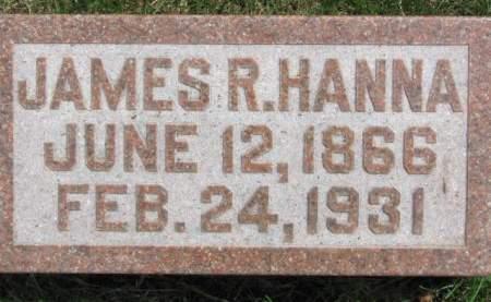 HANNA, JAMES  R. - Polk County, Iowa   JAMES  R. HANNA