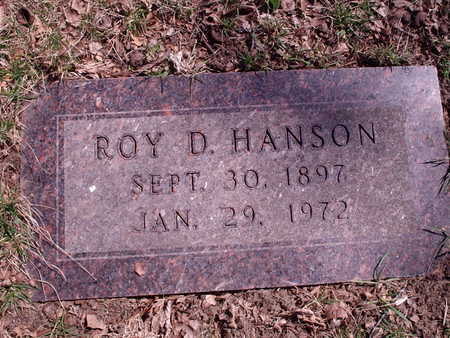 HANSON, ROY - Polk County, Iowa | ROY HANSON