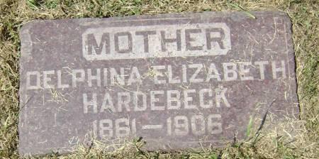 HARDEBECK, DELPHINA ELIZABETH - Polk County, Iowa | DELPHINA ELIZABETH HARDEBECK