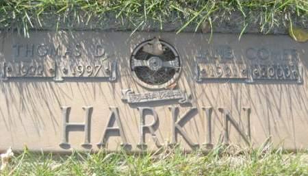 HARKIN, JANE COMER - Polk County, Iowa | JANE COMER HARKIN