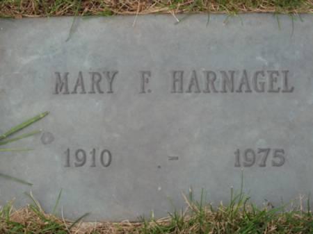 HARNAGEL, MARY  F. - Polk County, Iowa   MARY  F. HARNAGEL