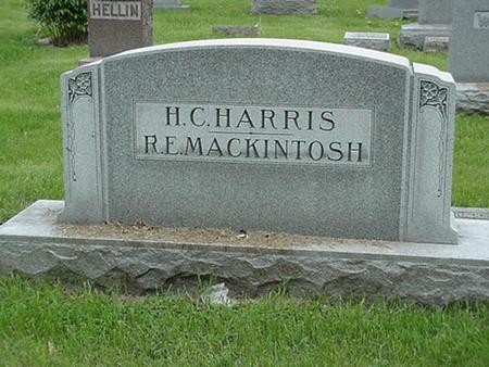 HARRIS AND MACKINTOSH, FAMILY - Polk County, Iowa | FAMILY HARRIS AND MACKINTOSH