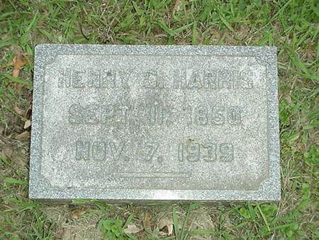 HARRIS, HENRY C. - Polk County, Iowa | HENRY C. HARRIS