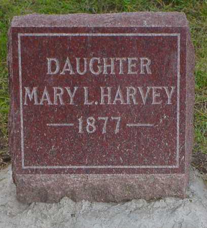 HARVEY, MARY L. - Polk County, Iowa | MARY L. HARVEY