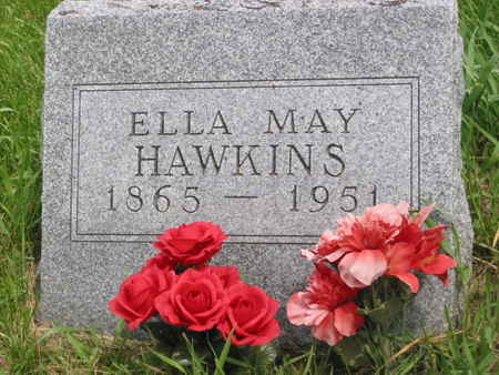 HAWKINS, ELLA MAY - Polk County, Iowa | ELLA MAY HAWKINS