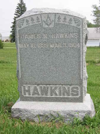 HAWKINS, JAMES N. - Polk County, Iowa   JAMES N. HAWKINS