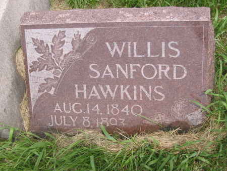 HAWKINS, WILLIS SANFORD - Polk County, Iowa | WILLIS SANFORD HAWKINS