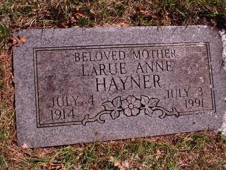 HAYNER, LARUE - Polk County, Iowa | LARUE HAYNER
