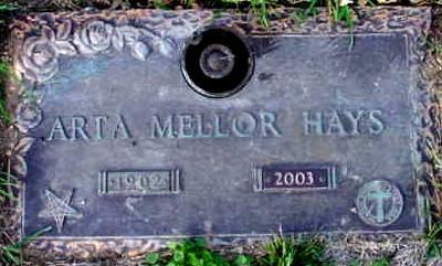 MELLOR HAYS, ARTA - Polk County, Iowa | ARTA MELLOR HAYS