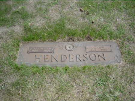 HENDERSON, JOHN - Polk County, Iowa | JOHN HENDERSON