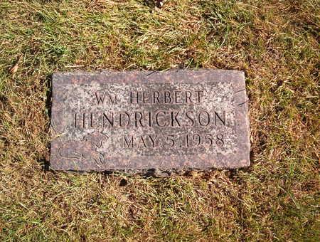 HENDRICKSON, WILLIAM HERBERT - Polk County, Iowa   WILLIAM HERBERT HENDRICKSON