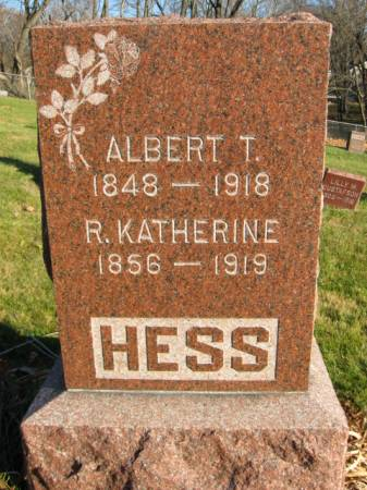 HESS, ALBERT - Polk County, Iowa | ALBERT HESS