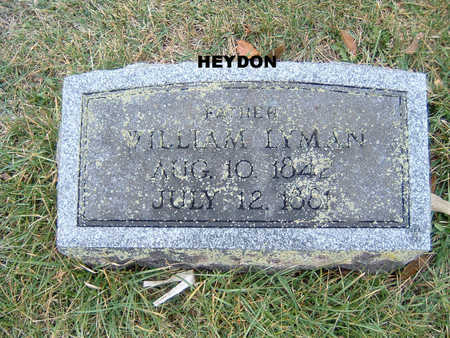 HEYDON, WILLIAM LYMON - Polk County, Iowa | WILLIAM LYMON HEYDON