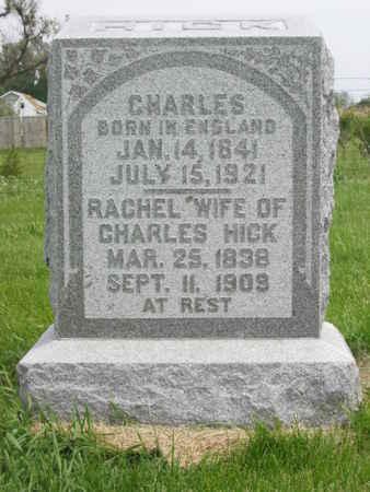 HICK, CHARLES - Polk County, Iowa | CHARLES HICK