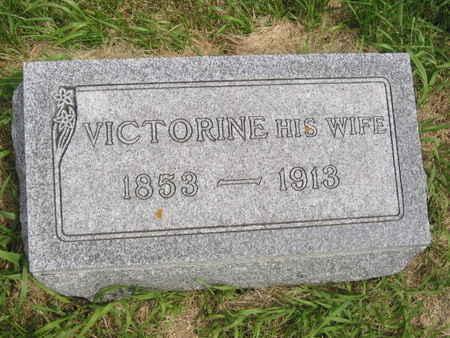 HICK, VICTORINE - Polk County, Iowa | VICTORINE HICK
