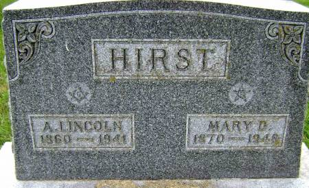 HIRST, A LINCOLN - Polk County, Iowa | A LINCOLN HIRST