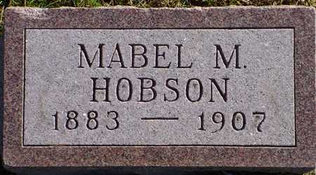 HOBSON, MABEL M. - Polk County, Iowa | MABEL M. HOBSON