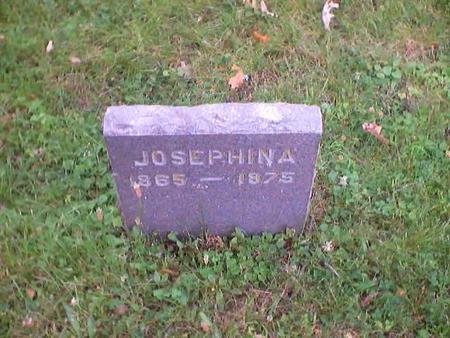HOHBERGER, JOSEPHINA - Polk County, Iowa | JOSEPHINA HOHBERGER