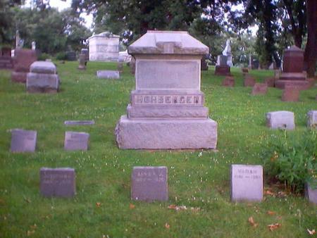 HOHBERGER, MAIN STONE - Polk County, Iowa   MAIN STONE HOHBERGER