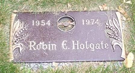 HOLGATE, ROBIN E. - Polk County, Iowa   ROBIN E. HOLGATE