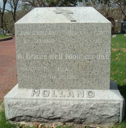 HOLLAND, ELIZABETH - Polk County, Iowa | ELIZABETH HOLLAND