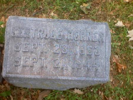 HORNER, GERTRUDE - Polk County, Iowa | GERTRUDE HORNER