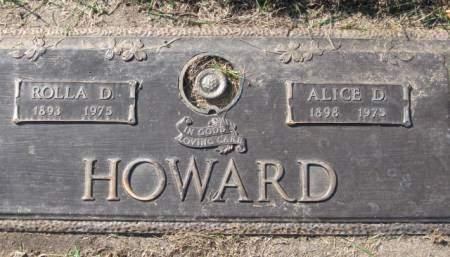 HOWARD, ALICE D. - Polk County, Iowa   ALICE D. HOWARD