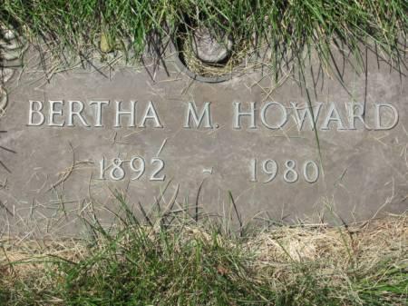 HOWARD, BERTHA M. - Polk County, Iowa | BERTHA M. HOWARD