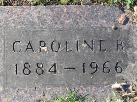 HOWARD, CAROLINE   B. - Polk County, Iowa   CAROLINE   B. HOWARD