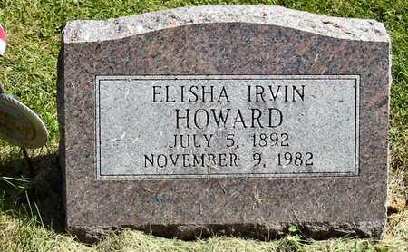 HOWARD, ELISHA IRVIN - Polk County, Iowa | ELISHA IRVIN HOWARD