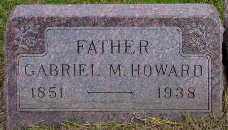 HOWARD, GABRIEL M. - Polk County, Iowa   GABRIEL M. HOWARD