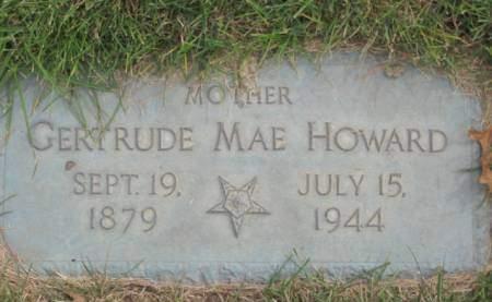 HOWARD, GERTRUDE MAE - Polk County, Iowa | GERTRUDE MAE HOWARD