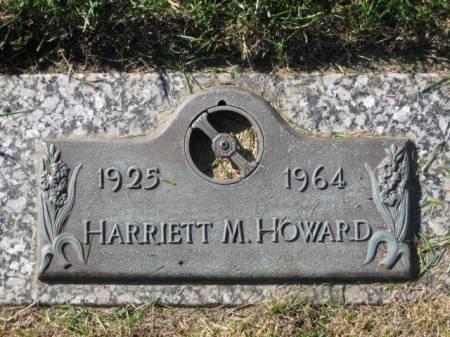 HOWARD, HARRIETT  M. - Polk County, Iowa   HARRIETT  M. HOWARD