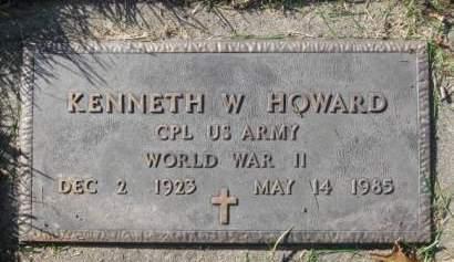 HOWARD, KENNETH  W. - Polk County, Iowa | KENNETH  W. HOWARD
