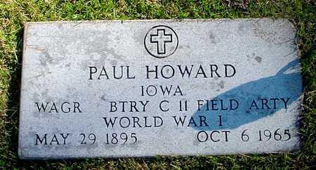 HOWARD, PAUL - Polk County, Iowa | PAUL HOWARD