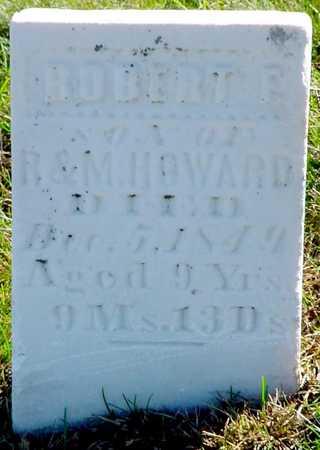 HOWARD, ROBERT F. - Polk County, Iowa | ROBERT F. HOWARD
