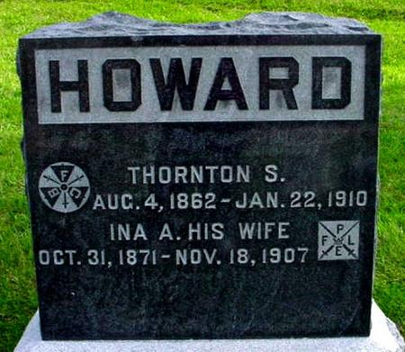 RING HOWARD, INA A. - Polk County, Iowa | INA A. RING HOWARD
