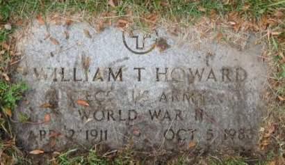 HOWARD, WILLIAM  T. - Polk County, Iowa | WILLIAM  T. HOWARD