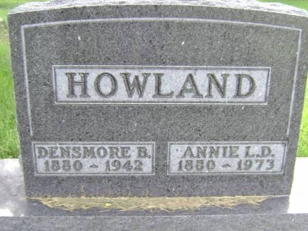 HOWLAND, DENSMORE B - Polk County, Iowa | DENSMORE B HOWLAND