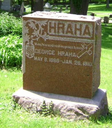 HRAHA, GEORGE - Polk County, Iowa | GEORGE HRAHA
