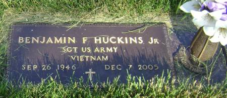 HUCKINS, BENJAMIN F JR - Polk County, Iowa   BENJAMIN F JR HUCKINS