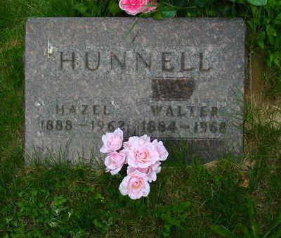 HUNNELL, HAZEL - Polk County, Iowa   HAZEL HUNNELL