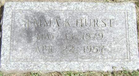 HURST, EMMA K - Polk County, Iowa | EMMA K HURST