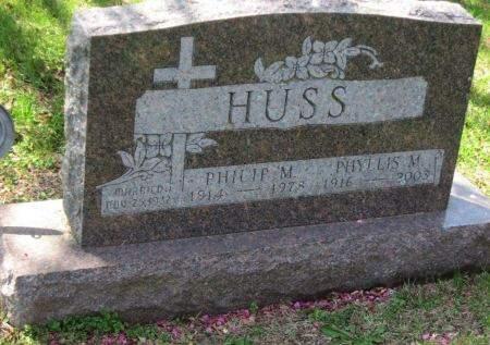 HILDEBRANT HUSS, PHYLLIS - Polk County, Iowa | PHYLLIS HILDEBRANT HUSS