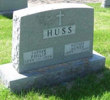 VERMUELEN HUSS, AGNES - Polk County, Iowa | AGNES VERMUELEN HUSS