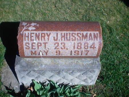 HUSSMAN, HENRY J. - Polk County, Iowa | HENRY J. HUSSMAN