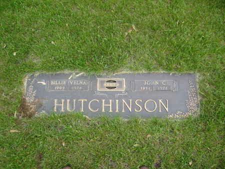 HUTCHINSON, JOHN CEDRIC - Polk County, Iowa | JOHN CEDRIC HUTCHINSON