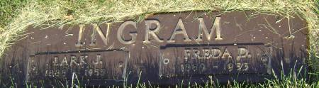 INGRAM, FREDA D - Polk County, Iowa | FREDA D INGRAM