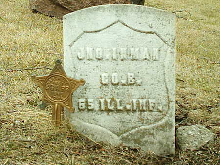 INMAN, JOHN - Polk County, Iowa | JOHN INMAN